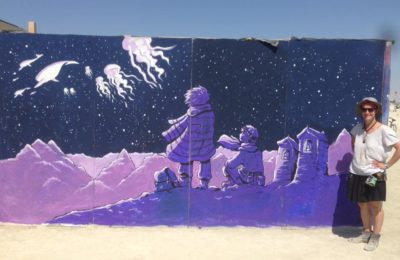 Fresque – Burning Man 2017 (photos + interview)